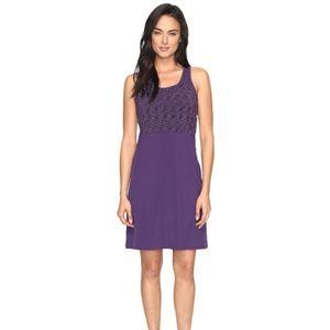 Smartwool Willow Lake Purple Dress, Small